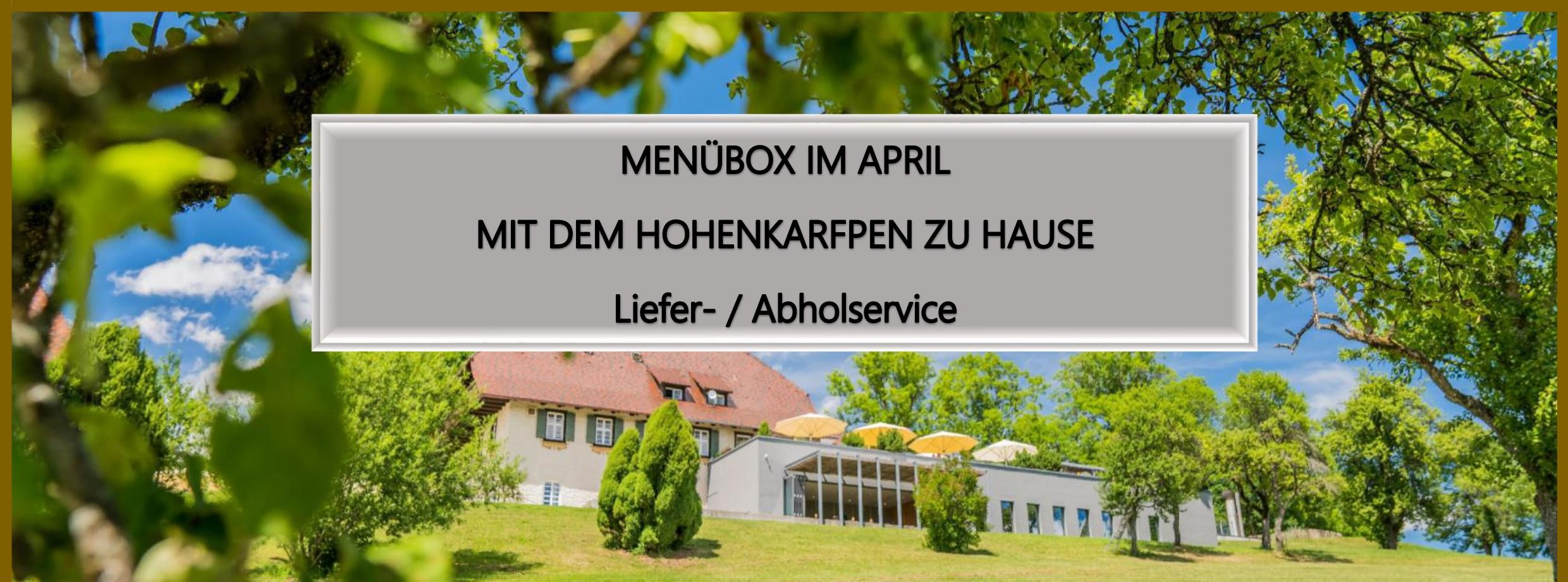 April Abholservice Header